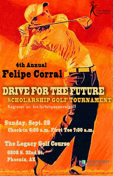 golf tournament 2014 flyer