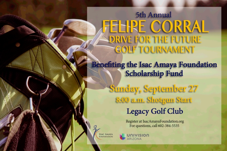 Golf Tournament 2015 Flyer